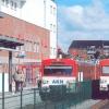 Weil an der A 7 gebaut wird, müssen  AKN-Kunden auf Busse umsteigen