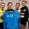 Drittliga-Damen des SVHU-Handball sammeln für guten Zweck