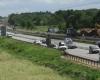 Autobahn am Wochenende nachts gesperrt