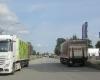 Durchgesickert: Schwerverkehr könnte über die Hamburger Straße zum Rewe-Logistikzentrum dieseln