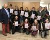 Schüler erhalten Office-Zertifikat