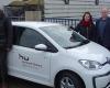 """""""HansE"""" kommt nach Henstedt Ulzburg –  Bürgermeister Bauer nimmt Ladesäule für Elektroautos in Betrieb"""