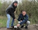 Edeka Oertwig spendet Setzlinge für Knick im Naturraum Siebenstücken