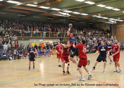 Handballwurf