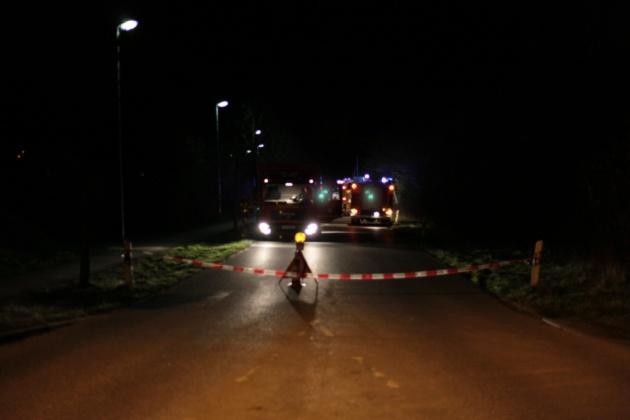 Feuerwehreinsatz in der Usedomer Straße