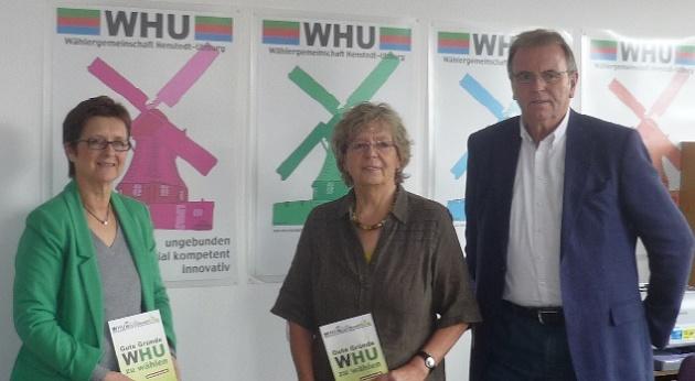 Tschüß Kurt, sagen Verena Grützbach und Karin Honerlah (Archivbild)