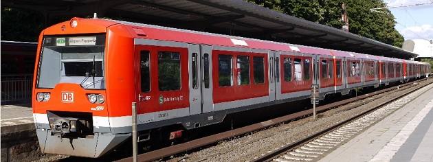 Hamburger S-Bahn, Foto: HVV
