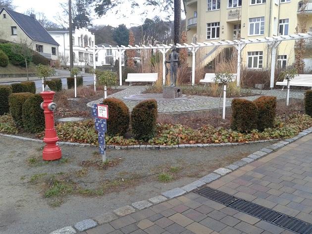 Brunnenanlage auf Rügen