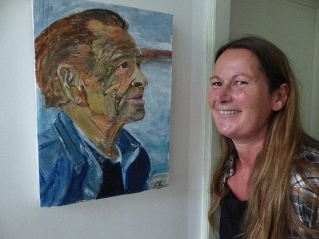 Dieses Porträt des spanischen Fischers erinnert sie an ihren Vater