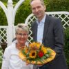 Bürgerpreisträgerin Heike Benkmann, Bürgervorsteher Dr. Dietmar Kahle