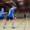 Dominic Nötzel und Jannis Bierschenk debütierten in der ersten Mannschaft des SVHU