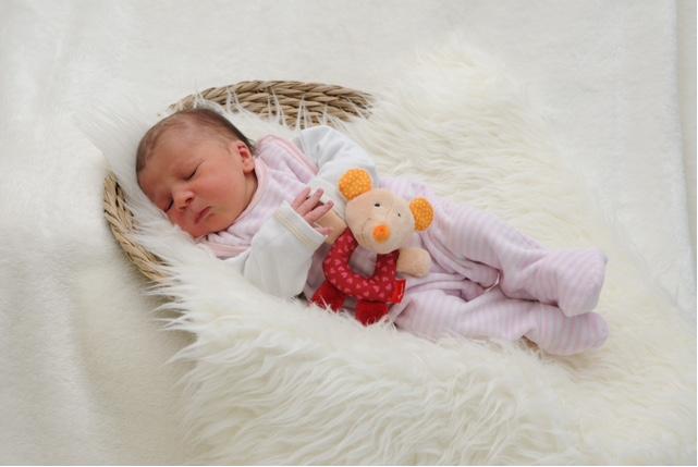 Baby Hannah Linser