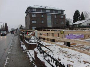 Auf engstem Raum: Mehrfamilienhäuser im Kirchweg lassen keinen Platz für Kitas