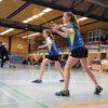 Debütantin Alina Kümmel und Svenja Hellmann gewannen das Damendoppel in drei Sätzen