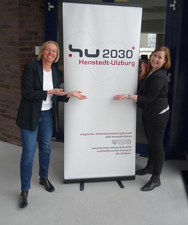 Verantwortlich für das IGEK, Kristi Grünberg und Martina Pfalzgraf (von rechts)