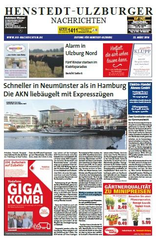 Dieser Artikel ist aus der März-Ausgabe der Henstedt-Ulzburger Nachrichten