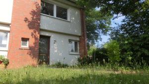Steht seit vielen Jahren leer - Mietsreihenhaus im Beckersbergring