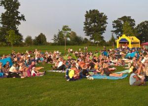Kino im Bürgerpark Foto Heike Benkmann_