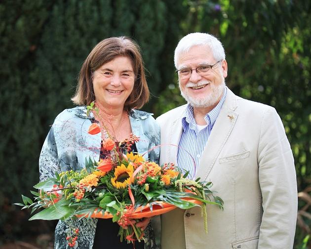 Vorsitzende des Willkommensteam e.V. Heidi Colmorgen, Bürgervorsteher  und Mariano Córdova (Foto: Timm Colmorgen)