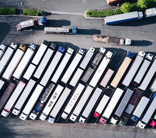 Parkende Laster