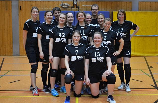 Die Bezirksliga-Volleyballerinnen des SVHU