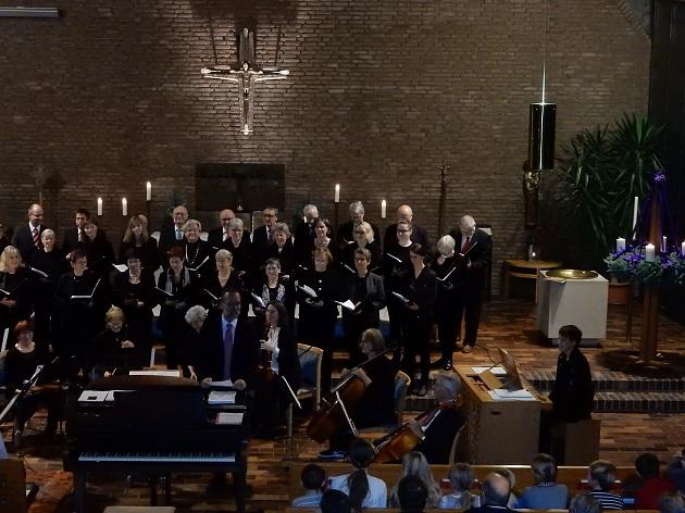 die Kantorei begeisterte mit dem Magnificat in B-Dur von Francesco Durante