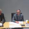 Henry Danielski neben Bürgermeister Bauer