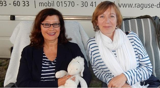 Gabriella Engelmann und Marie Matisek
