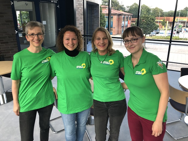 Nachhaltiges Handeln ist spannend und macht Spaß sagen die örtlichen Grünen