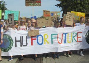 Klima-Demo heute in Ulzburg-Mitte