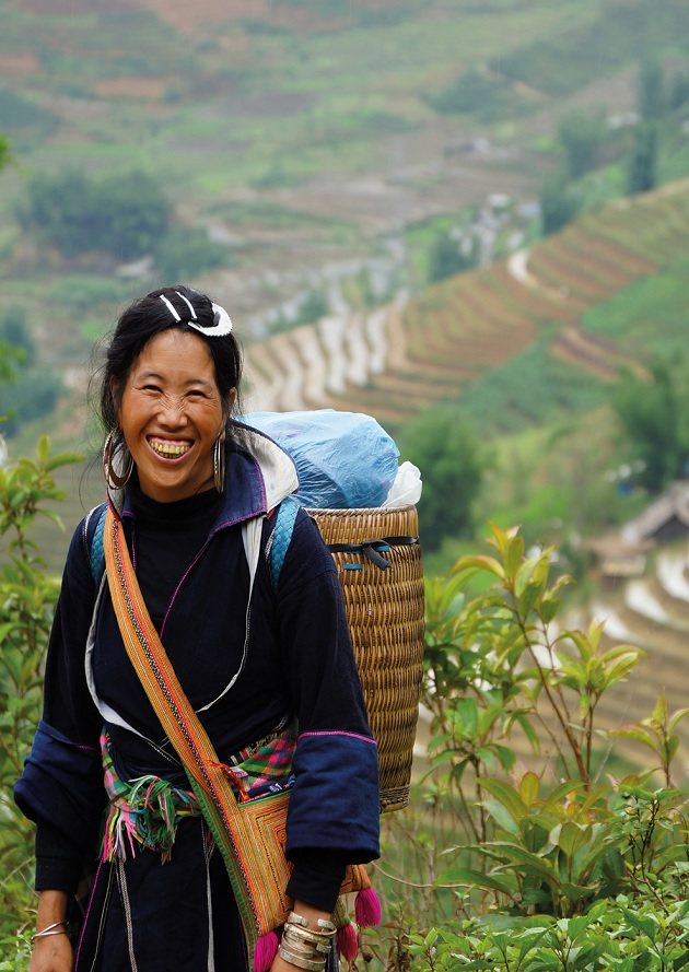 Vietnamesische Landarbeiterin. (Foto: Gunnar Green)