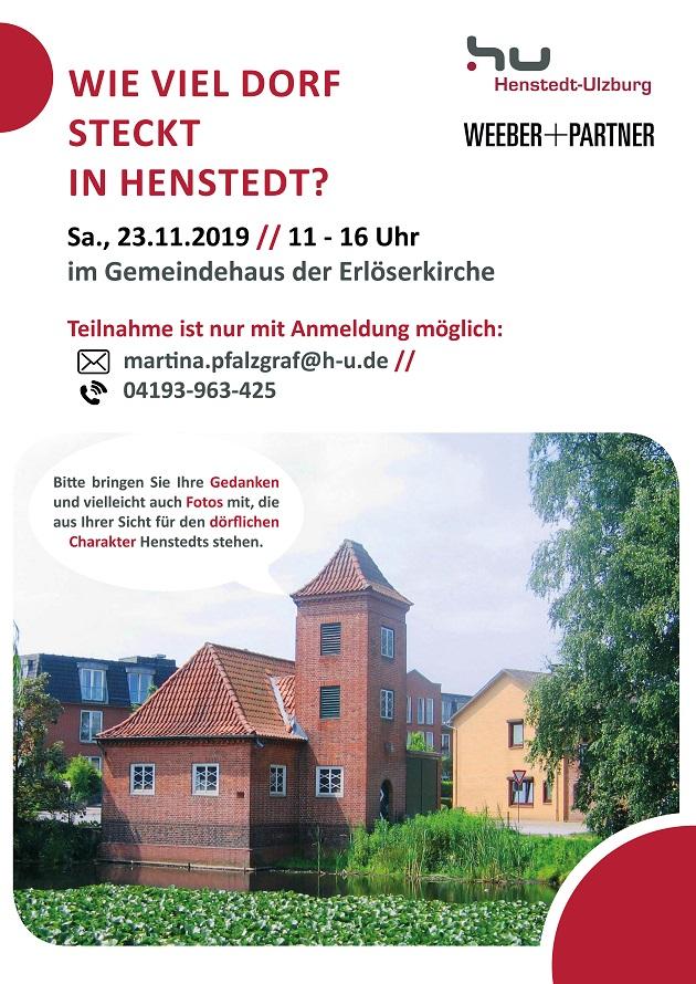 Henstedt Dorf_Poster_DIN A3x