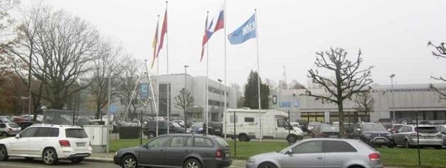Blick auf dem Standort in der Nachbarstadt. Die Firma macht nach eigenen Angaben 140 Euro Umsatz und beschäftigt 900 Mitarbeiter