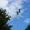Henstedt-Ulzburg hat Flutlichtanlagen auf LED umgerüstet