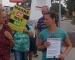 Maske ab, Mut an - Protestierer fordern Schluss mit Corona-Beschränkungen